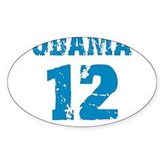 Obama 2012 Oval Sticker (50 pk)