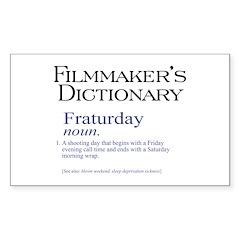 Fraturday Rectangle Sticker 10 pk)