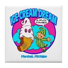Ice Cream Dream Tile Coaster