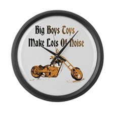 Harley Lower design Large Wall Clock