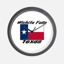 Wichita Falls Texas Wall Clock