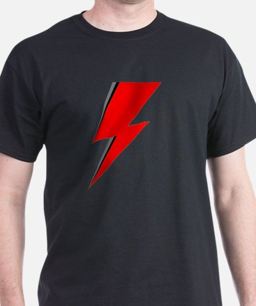 Lightning Bolt red logo T-Shirt