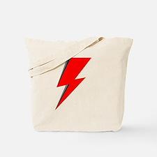 Lightning Bolt red logo Tote Bag