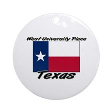 West University Place Texas Ornament (Round)