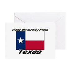West University Place Texas Greeting Card