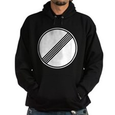 Autobahn No Speed Limit Sign Hoody