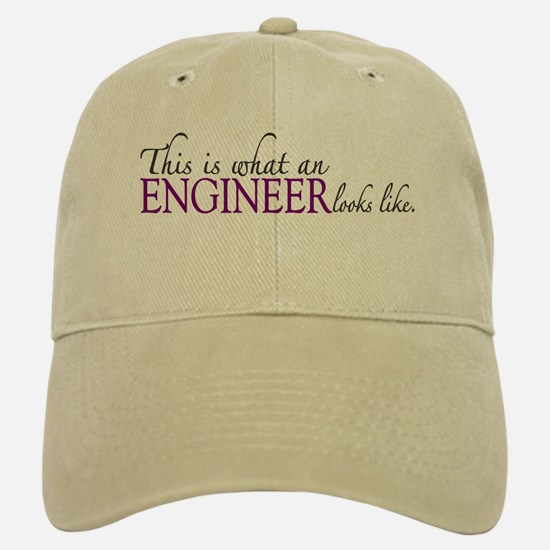 What an ENGINEER Looks Like Baseball Baseball Cap