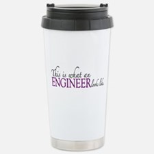 What an ENGINEER Looks Like Travel Mug