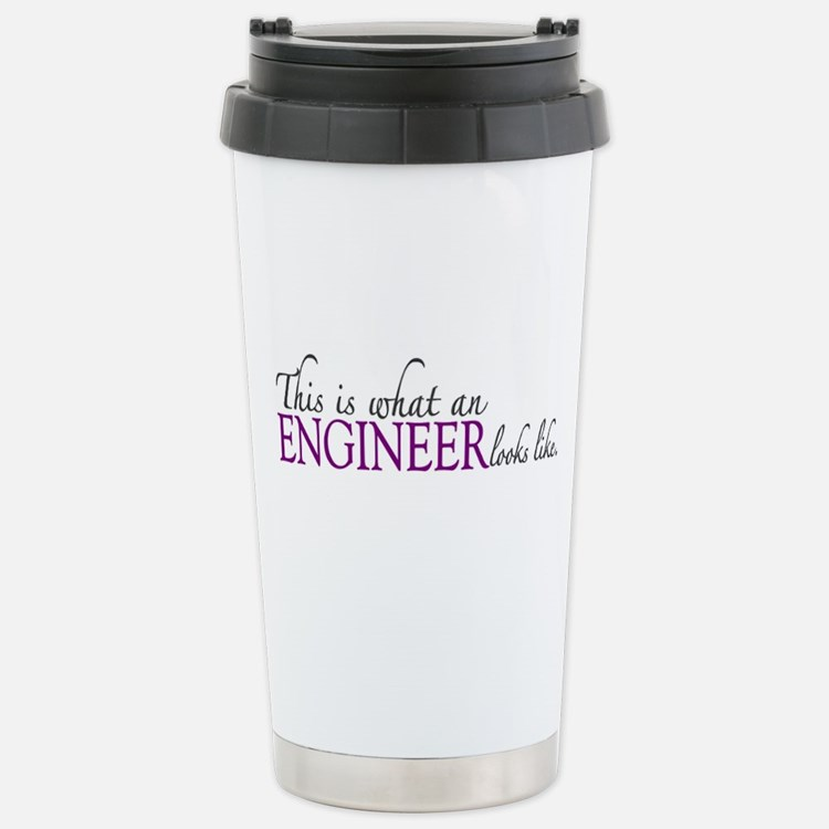 What an ENGINEER Looks Like Travel Mug