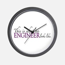 What an ENGINEER Looks Like Wall Clock