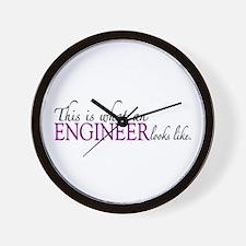What an ENGINEER Looks Like Wall Clock