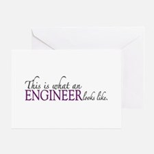 What an ENGINEER Looks Like Greeting Card