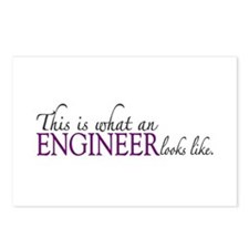 What an ENGINEER Looks Like Postcards (Package of