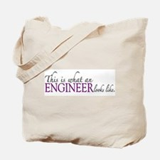 What an ENGINEER Looks Like Tote Bag
