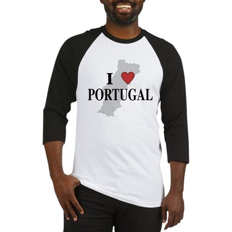 I Love Portugal Baseball Jersey