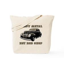 Heavy Metal Hot Rod Shop- Tote Bag