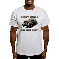 Heavy Metal Hot Rod Shop- T-Shirt