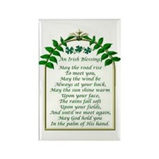 Irish Blessing Rectangle Magnet