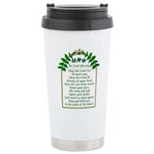 Irish Blessing Travel Mug