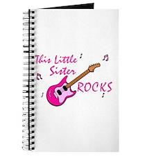 This Little Sister Rocks Journal
