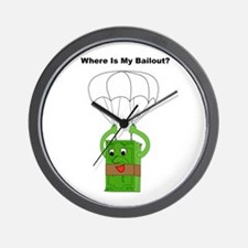 My Bailout Wall Clock