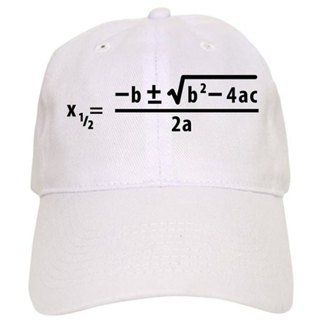 quadratic formula Cap