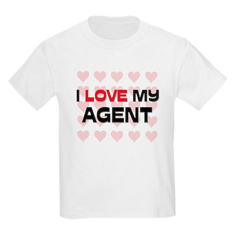 I Love My Agent Kids Light T-Shirt
