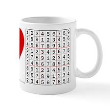 I heart Sudoku Coffee Mug