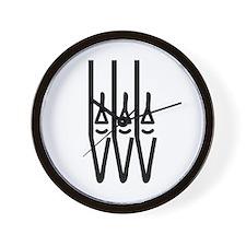 organ pipes Wall Clock