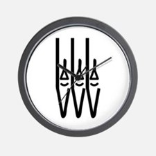 organ pipes Wall Clock