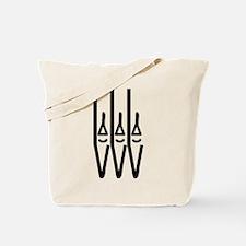 organ pipes Tote Bag