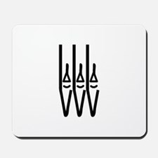 organ pipes Mousepad