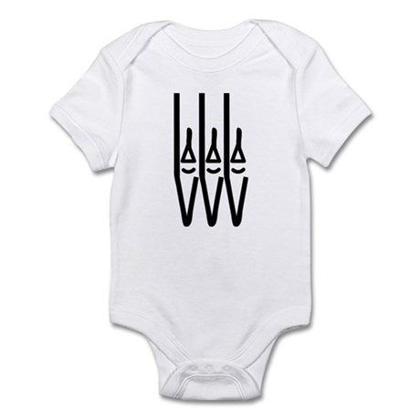 organ pipes Infant Bodysuit