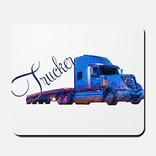 Trucker By Deb's Grafix Mousepad
