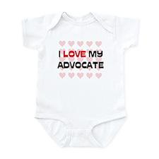 I Love My Advocate Infant Bodysuit