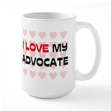 I Love My Advocate Mug