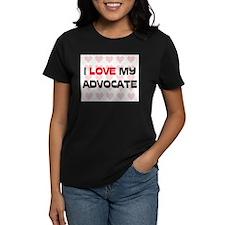 I Love My Advocate Tee
