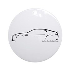 Aston Martin Vantage Ornament (Round)