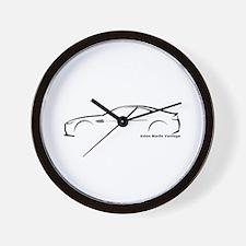 Aston Martin Vantage Wall Clock
