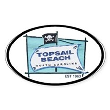 Topsail NC Oval Decal