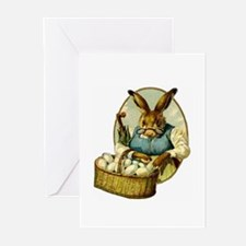 """""""Easter Bunny"""" Greeting Cards (Pk of 10)"""