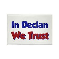In Declan We Trust Rectangle Magnet