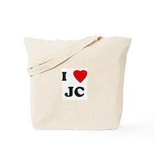 I Love JC Tote Bag