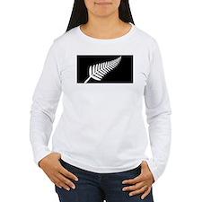 Silver Fern Flag T-Shirt
