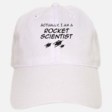 Rocket Scientist Baseball Baseball Cap