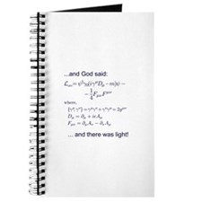 God said, let there be light (QED) Journal