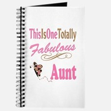 Totally Fabulous Aunt Journal