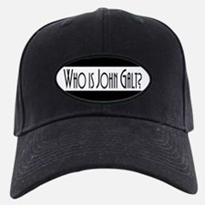 Who is John Galt? Atlas Shrugged Baseball Hat