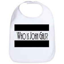 Who is John Galt? Atlas Shrugged Bib