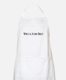 Who is John Galt? Atlas Shrugged BBQ Apron